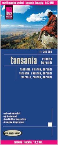 landkaart, wegenkaart Tanzania 1:1.200.000 9783831773893  Reise Know-How WMP Polyart  Landkaarten en wegenkaarten Tanzania, Zanzibar