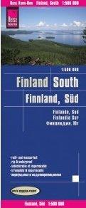 landkaart, wegenkaart Zuid-Finland 1:500.000 9783831773954  Reise Know-How WMP Polyart  Landkaarten en wegenkaarten Finland