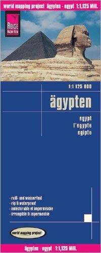 landkaart, wegenkaart Egypte 1:1.250.000 9783831774081  Reise Know-How WMP Polyart  Landkaarten en wegenkaarten Egypte