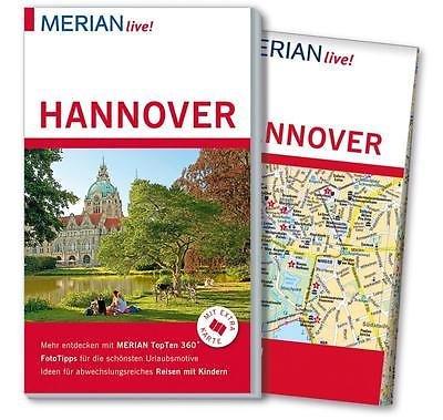 Hannover 9783834222121  Merian   Reisgidsen Hannover, Weserbergland