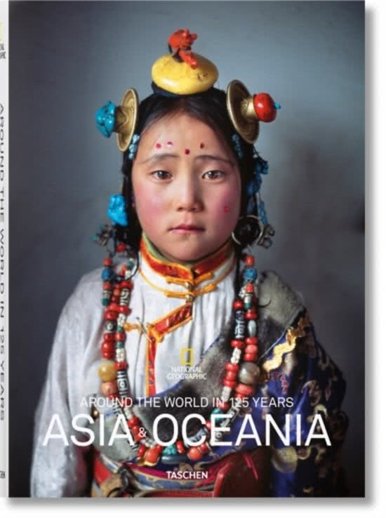 Around the world in 125 years: Asia & Oceania 9783836568845  Taschen / National Geographic   Fotoboeken Afrika