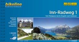 Bikeline Inn-Radweg 1   fietsgids 9783850000130  Esterbauer Bikeline  Fietsgidsen, Meerdaagse fietsvakanties Tirol & Vorarlberg