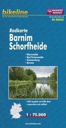 RK-BRA06  Barnim, Schorfheide 1:75.000 9783850002998  Esterbauer Bikeline Radkarten  Fietskaarten Brandenburg & Sachsen-Anhalt