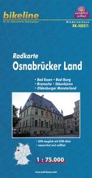 RK-NDS11 Osnabrücker Land 1:75.000 9783850003100  Esterbauer Bikeline Radkarten  Fietskaarten Schleswig-Holstein, Hamburg, Niedersachsen