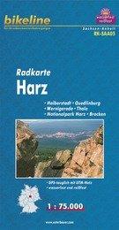 RK-SAA05  Nationalpark Harz 1:75.000 9783850003179  Esterbauer Bikeline Radkarten  Fietskaarten Berlijn, Brandenburg, Harz