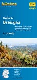 RK-BW09  Breisgau  1:75.000 9783850003254  Esterbauer Bikeline Radkarten  Fietskaarten Baden-Württemberg, Zwarte Woud