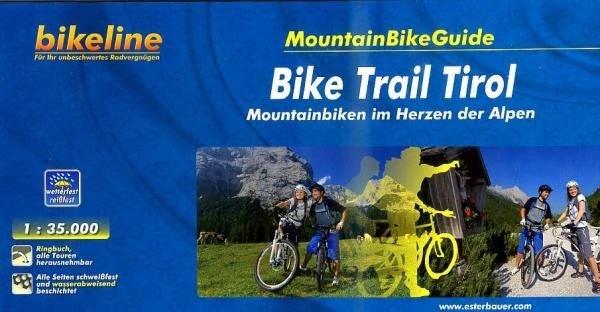 Bike Trail Tirol 9783850003445  Esterbauer Bikeline  Fietsgidsen Tirol & Vorarlberg