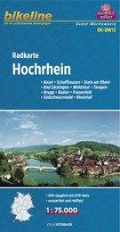 RK-BW13  Hochrhein 1:75.000 9783850003483  Esterbauer Bikeline Radkarten  Fietskaarten Baden-Württemberg, Zwarte Woud