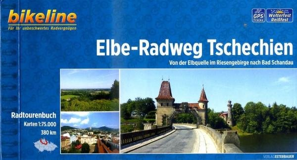 Bikeline Elbe-Radweg Tschechien | fietsgids 9783850003667  Esterbauer Bikeline  Fietsgidsen, Meerdaagse fietsvakanties Tsjechië