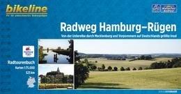 Bikeline Radfernweg Hamburg-Rügen   fietsgids 9783850003773  Esterbauer Bikeline  Fietsgidsen, Meerdaagse fietsvakanties Duitsland