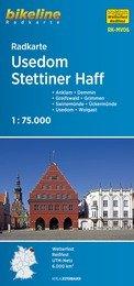 RK-MV06 Usedom, Stettiner Haff Fietskaart 1:75.000 9783850003834  Esterbauer Bikeline Radkarten  Fietskaarten Mecklenburg-Vorpommern, Rügen