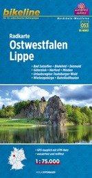 RK-NRW07  Ostwestfalen, Lippe  1:75.000 9783850003889  Esterbauer Bikeline Radkarten  Fietskaarten Schleswig-Holstein, Hamburg, Niedersachsen