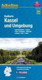 RK-HES01  Kassel und Umgebung  1:75.000 9783850003902  Esterbauer Bikeline Radkarten  Fietskaarten Noord- en Midden-Hessen, Kassel