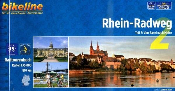 Bikeline Rhein-Radweg 2: Basel - Mainz | fietsgids 9783850004480  Esterbauer Bikeline  Fietsgidsen, Meerdaagse fietsvakanties Baden-Württemberg, Zwarte Woud
