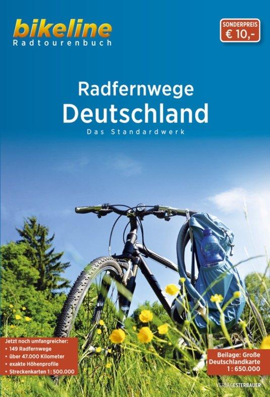 Bikeline RadFernWege Deutschland | fietsgids 9783850004626  Esterbauer Bikeline  Fietsgidsen, Meerdaagse fietsvakanties Duitsland