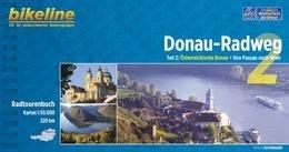 Bikeline Donau-Radweg 2 | Duitstalige versie | fietsgids 9783850004701  Esterbauer Bikeline  Fietsgidsen, Meerdaagse fietsvakanties Wenen, Noord- en Oost-Oostenrijk