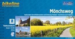 Bikeline Mönchsweg | fietsgids 9783850004978  Esterbauer Bikeline  Fietsgidsen Bremen, Osnabrück, Emsland, Schleswig-Holstein, Lübeck