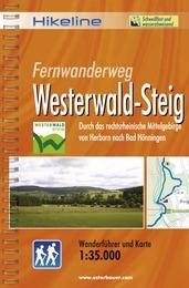 Westerwaldsteig | Hikeline Wanderführer (wandelgids) 9783850005029  Esterbauer Hikeline wandelgidsen  Meerdaagse wandelroutes, Wandelgidsen Mittelrhein, Loreley, Westerwald