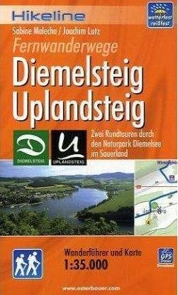 Diemelsteig, Uplandsteig | Hikeline Wanderführer (wandelgids) 9783850005210  Esterbauer Hikeline wandelgidsen  Meerdaagse wandelroutes, Wandelgidsen Noord- en Midden-Hessen, Kassel