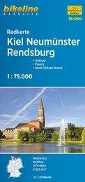 RK-SH04  Kiel, Neumünster, Rendsburg 9783850005937  Esterbauer Bikeline Radkarten  Fietskaarten Schleswig-Holstein, Hamburg, Niedersachsen