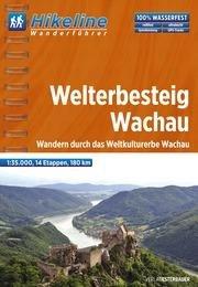 Welterbesteig Wachau | Hikeline Wanderführer (wandelgids) 9783850006101  Esterbauer Hikeline wandelgidsen  Meerdaagse wandelroutes, Wandelgidsen Wenen, Noord- en Oost-Oostenrijk
