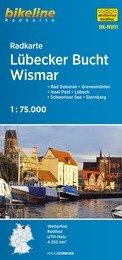 RK-MV01  Lübecker Bucht - Wismar fietskaart 9783850006125  Esterbauer Bikeline Radkarten  Fietskaarten Mecklenburg-Vorpommern, Rügen