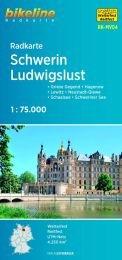 RK-MV04  Schwerin - Ludwigslust fietskaart 9783850006132  Esterbauer Bikeline Radkarten  Fietskaarten Mecklenburg-Vorpommern, Rügen