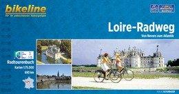 Bikeline Loire-Radweg   fietsgids 9783850006309  Esterbauer Bikeline  Fietsgidsen, Meerdaagse fietsvakanties Loire Atlantique, Charente, Poitou, Vendée, Tours, Orléans, Bourges