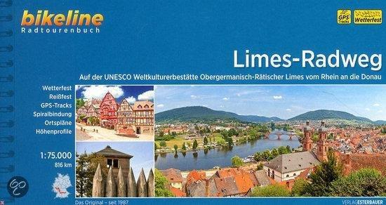 Bikeline Deutscher Limes-Radweg 1 | fietsgids 9783850006552  Esterbauer Bikeline  Fietsgidsen, Meerdaagse fietsvakanties Duitsland
