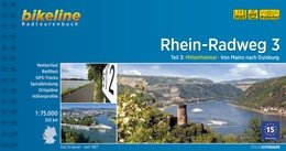 Bikeline Rhein-Radweg 3   fietsgids 9783850006613  Esterbauer Bikeline  Fietsgidsen, Meerdaagse fietsvakanties Duitsland