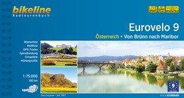 Bikeline Eurovelo 9 - Von Brünn nach Maribor | fietsgids 9783850006644  Esterbauer Bikeline  Fietsgidsen, Meerdaagse fietsvakanties Europa
