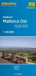 RK-MALLO02  Mallorca Ost 1:60.000 9783850006750  Esterbauer Bikeline Radkarten  Fietskaarten Mallorca
