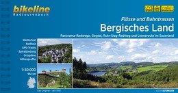 Bikeline Bergisches Land, Flüsse und Bahnstrassen | fietsgids 9783850006811  Esterbauer Bikeline  Fietsgidsen Niederrhein, Ruhrgebied, Keulen