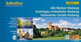 Bikeline Alb-Neckar-Weg, Kraichgau-Hohenlohe-Radweg | fietsgids 9783850006996  Esterbauer Bikeline  Fietsgidsen Baden-Württemberg, Zwarte Woud