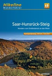 Saar-Hunsrück-Steig | Hikeline Wanderführer (wandelgids) 9783850007061  Esterbauer Hikeline wandelgidsen  Meerdaagse wandelroutes, Wandelgidsen Eifel, Moezel, Rheinland-Pfalz