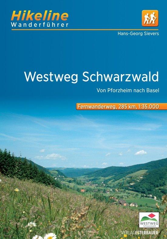 Westweg Schwarzwald | Hikeline Wanderführer (wandelgids) 9783850007085  Esterbauer Hikeline wandelgidsen  Lopen naar Rome, Meerdaagse wandelroutes, Wandelgidsen Baden-Württemberg, Zwarte Woud