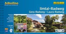 Bikeline Ilmtal-Radweg • Gera-Radweg • Laura-Radweg | fietsgids 9783850007122  Esterbauer Bikeline  Fietsgidsen Thüringen, Weimar, Erfurt, Jena