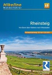Rheinsteig | Hikeline Wanderführer (wandelgids) 9783850007139  Esterbauer Hikeline wandelgidsen  Lopen naar Rome, Meerdaagse wandelroutes, Wandelgidsen Mittelrhein, Loreley, Westerwald