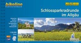 Bikeline Schlossparkradrunde im Allgäu (219km) | fietsgids 9783850007214  Esterbauer Bikeline  Fietsgidsen Beierse Alpen