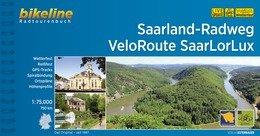 Bikeline Saarland-Radweg • VeloRoute SaarLorLux | fietsgids 9783850007498  Esterbauer Bikeline  Fietsgidsen, Meerdaagse fietsvakanties Eifel, Moezel, Rheinland-Pfalz