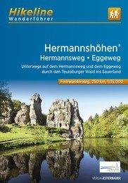 Hermannshöhen | Hikeline Wanderführer (wandelgids) 9783850007672  Esterbauer Hikeline wandelgidsen  Meerdaagse wandelroutes, Wandelgidsen Sauerland, Münsterland, Teutoburger Wald