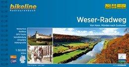 Bikeline Weser-Radweg | fietsgids 9783850007771  Esterbauer Bikeline  Fietsgidsen Schleswig-Holstein, Hamburg, Niedersachsen