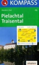 KP-213  Pielachtal, Traisental, St-Pölten | Kompass wandelkaart 9783850260329  Kompass Wandelkaarten   Wandelkaarten Wenen, Noord- en Oost-Oostenrijk