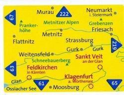 KP-214  Gurktaler + Seetaler Alpen | Kompass wandelkaart 9783850260336  Kompass Wandelkaarten   Wandelkaarten Salzburg, Karinthë, Tauern, Stiermarken