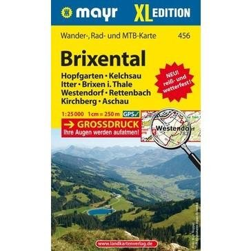 KP-456  Brixental XL 1:25000 9783850264723  Mayr   Wandelkaarten Tirol & Vorarlberg