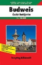 Ceske Budejovice (Budweis) | stadsplattegrond 9783850841665  Freytag & Berndt   Stadsplattegronden Tsjechië