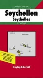 Seychellen   autokaart, wandelkaart 1:50.000 9783850842419  Freytag & Berndt   Landkaarten en wegenkaarten Seychellen, Reunion, Comoren, Mauritius