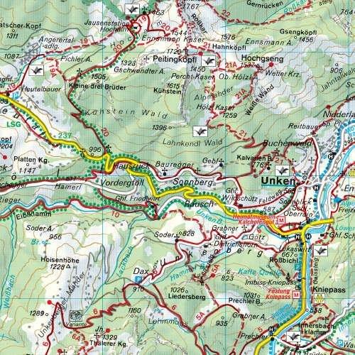 WK-191  Gasteiner Tal,Wagrain,Grossarltal 9783850847209  Freytag & Berndt WK 1:50.000  Wandelkaarten Salzburg, Karinthië, Tauern, Stiermarken