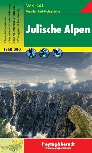 WK-141  Julische Alpen   wandelkaart 9783850847353  Freytag & Berndt WK 1:50.000  Wandelkaarten Slovenië