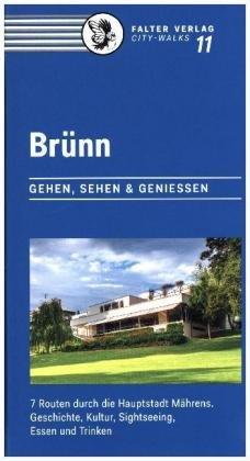Brünn | (reisgids Brno) 9783854396031  Falter Verlag   Reisgidsen Tsjechië